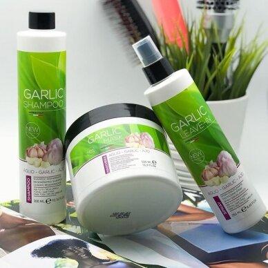Kay Pro atkūriamasis plaukų šampūnas su česnako ekstraktu, 1000 ml 2