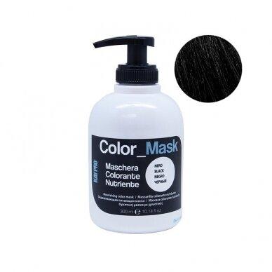 KAY PRO BLACK dažanti, juodos spalvos plaukų kaukė, 300ml