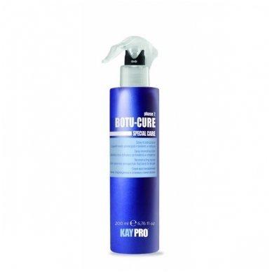 KAY PRO BOTU CURE purškiklis stipriai pažeistiems, linkusiems lūžinėti plaukams, 200 ml.