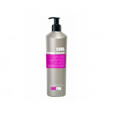 KAY PRO CURL garbanotus, banguotus plaukus kontroliuoijantis kondicionierius, 350 ml