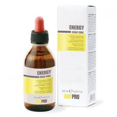 KAY PRO ENERGY LOTION losjonas nuo plaukų slinkimo, probleminei galvos odai, 125ml