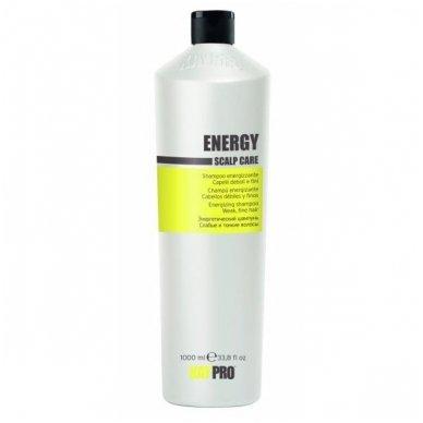 KAY PRO ENERGY šampūnas silpniems, ploniems plaukams, 350 ml