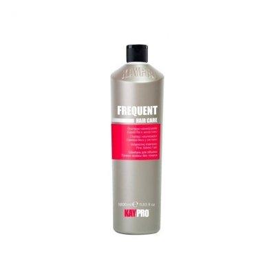 KAY PRO FREQUENT kasdienio naudojimo šampūnas visiems plaukų tipams, 1000ml.