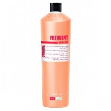KAY PRO FREQUENT atstatomasis apelsinų kvapo šampūnas-dušo gelis, 1000ml