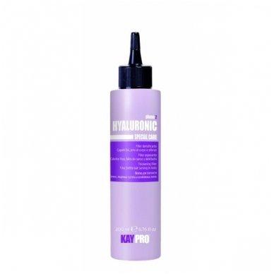 KAY PRO HIALURONIC serumas ploniems, trapiems, lūžinėjantiems plaukams, 200 ml