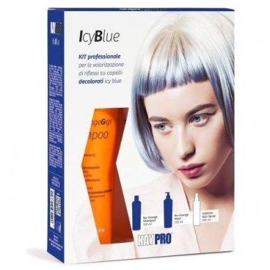 KAY PRO ICE BLUE KIT PROFESSIONAL rinkinys balintiems, ypač šviesiems plaukams