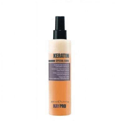 KAY PRO KERATIN atkūriamasis plaukų kondicionierius su keratinu, 200 ml