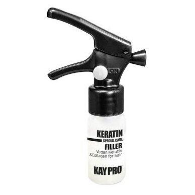 KAY PRO Keratin Filler plaukų fluidas su keratinu ir kolagenu 10 ml x 12 vnt.