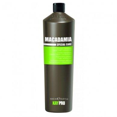 KAY PRO MACADAMIA regeneruojantis šampūnas trapiems, jautriems plaukams, 1000 ml.