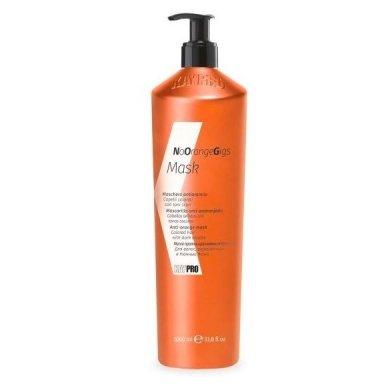 KAY PRO NO ORANGE GIGS oranžinį atspalvį slopinanti plaukų kaukė , 1000ml