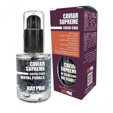 KAY PRO Caviar Royal Pearls serumas su keratinu ir juodaisiais ikrais, 30ml