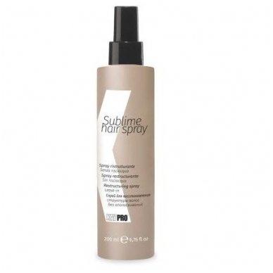 KAY PRO SUBLIME HAIR SPRAY atstatantis purškiklis šviesiems plaukams, 200 ml