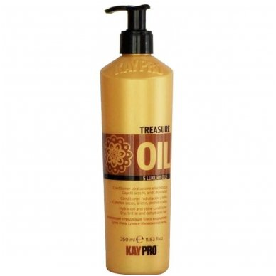 KAY PRO TRESURE OIL kondicionierius silpniems plaukams, 350 ml.