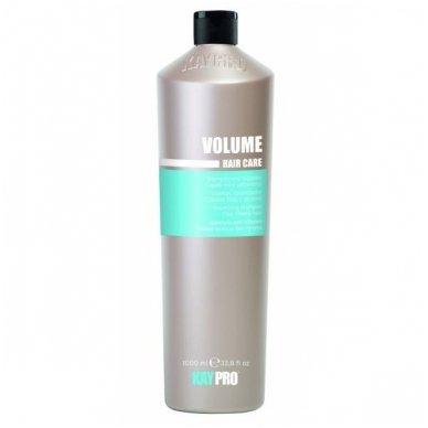KAY PRO VOLUME apimties suteikiantis šampūnas nualintiems plaukams, 1000 ml