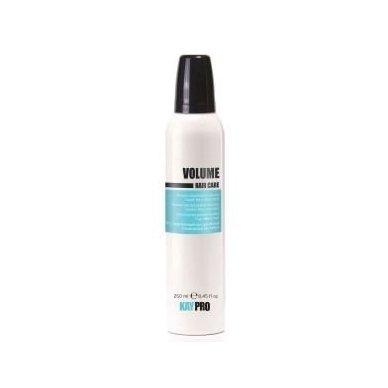 KAY PRO VOLUME vidutinės fiksacijos apimties suteikiančios putos nualintiems plaukams, 200 ml.