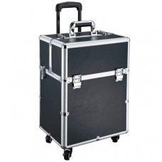 Kelioninis lagaminas darbo priemonėms GLAMOUR D-9006, juodos sp.