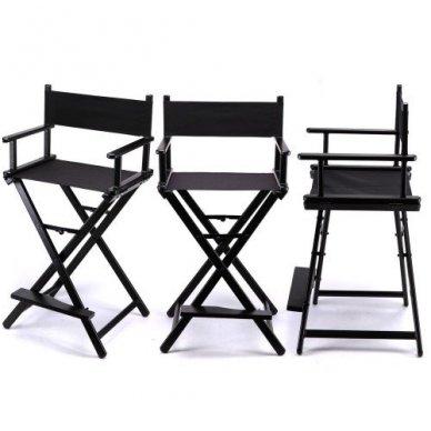 Kėdė makiažui KC-CH01, juodos sp.