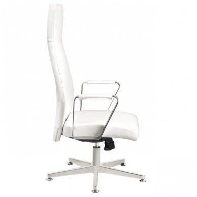 Kėdė su ratukais RICO 156, baltos sp. 2