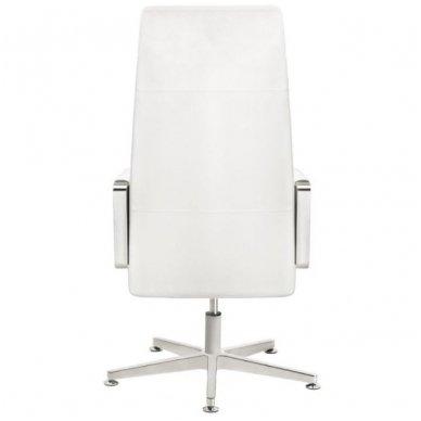 Kėdė su ratukais RICO 156, baltos sp. 5