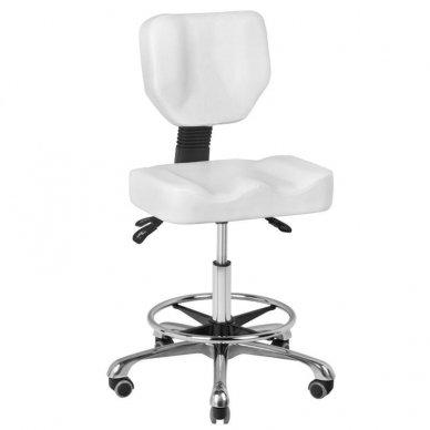 Kėdutė meistrui, balta