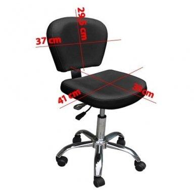 Kėdutė meistrui CH-855, juodos spalvos 2