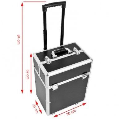 Kelioninis lagaminas vizažo, kirpėjo priemonėms 9022 3