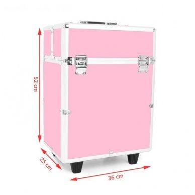 Kelioninis lagaminas vizažo, kirpėjo priemonėms 9022