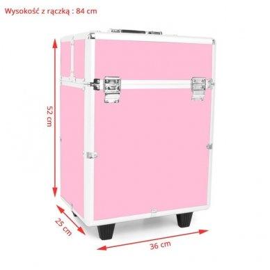 Kelioninis lagaminas vizažo, kirpėjo priemonėms 9022 5
