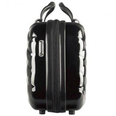 Kelioninis vizažo meistro, kirpėjo krepšys GLAMOUR 6002-2, juodos sp. 3