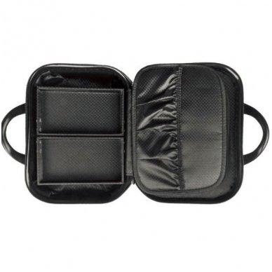 Kelioninis vizažo meistro, kirpėjo krepšys GLAMOUR 6002-2, juodos sp. 4