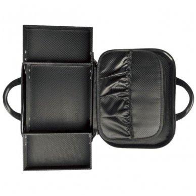 Kelioninis vizažo meistro, kirpėjo krepšys GLAMOUR 6002-2, juodos sp. 6