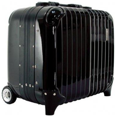 Kelioninis vizažo meistro, kirpėjo lagaminas GLAMOUR 9301, juodos sp.