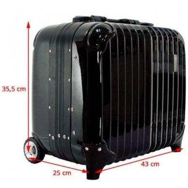 Kelioninis vizažo meistro, kirpėjo lagaminas GLAMOUR 9301, juodos sp. 3