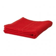 Kilpinis rankšluostis 30 x 50 cm, tamsiai raudonos spalvos