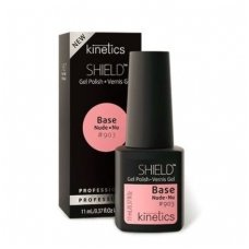 Kinetics SHIELD gelio lako bazė ir spalva UNITED PINK KGPBN903, 15 ml