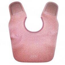 Kirpimo apykaklė Osom Professional Collar, termoplastikas, raudonos sp.