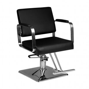 Kirpyklos kėdė HAIR SYSTEM HS202, juodos sp.