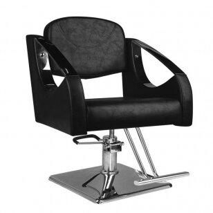 Kirpyklos kėdė SM308, juodos sp.