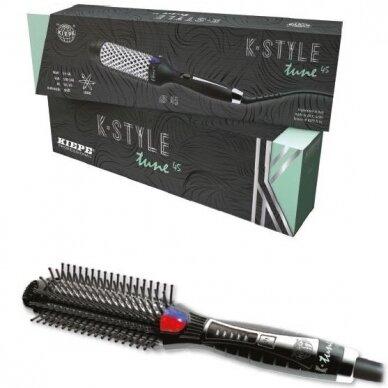 Kiepe Professional Elektrinės plaukų formavimo šukos K-TUNE OVAL