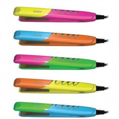 Kiepe Professional mini plaukų tiesintuvas DUO FLUO, 25w 9
