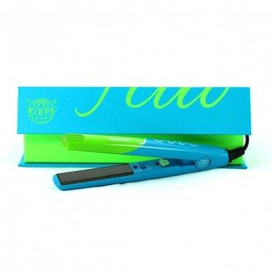 Kiepe Professional mini plaukų tiesintuvas DUO FLUO, 25w 4