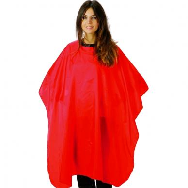 Kiepe Professional neperšlampamas peniuaras kirpimui DNA Evolution, 125x145cm, raudonos sp.