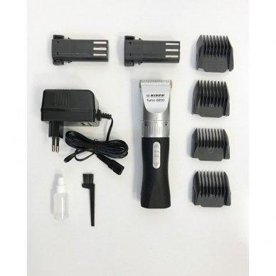 Kiepe Professional plaukų kirpimo mašinėlė TURBO 6200 4