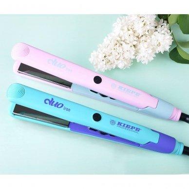 Kiepe Professional plaukų tiesinimo žnyplės DUO  IRON, 48W 3