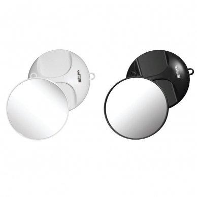 Kiepe Professional veidrodėlis DNA EVOLUTION, D 246mm juoda/balta sp.