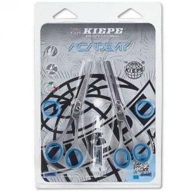 Kiepe Professional žirklių rinkinys ACADEMY pradedantiesiams kirpėjams, REGULAR, 14cm
