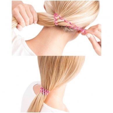 Kiepe spiralinės plaukų gumytės 4