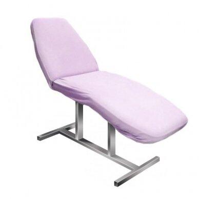 Kilpinė paklodė su guma 60 x 190 cm, violetinės sp.