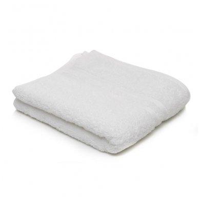 Kilpinis rankšluostis 30 x 50 cm, baltos spalvos