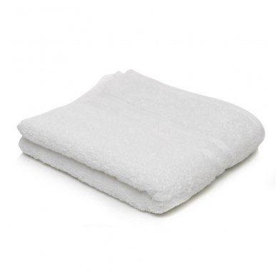 Kilpinis rankšluostis 50 x 90 cm, baltos spalvos